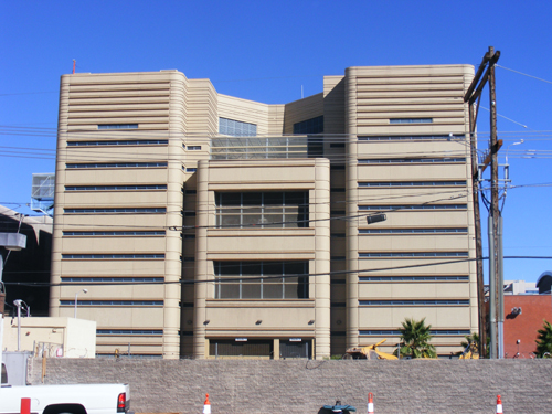 CCDC Las Vegas, NV - Back View of the Jail